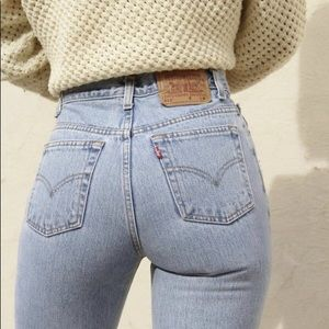 Vintage Levi's High Waist wedgie fit Jeans